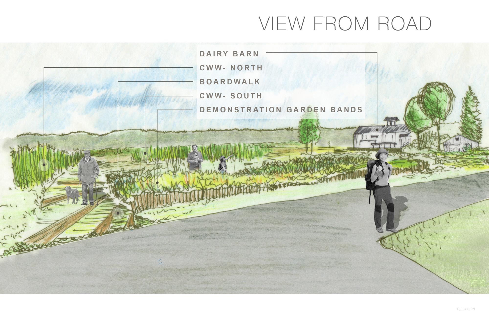 Trail hub landscape design proposal tryon farm institute for Garden design proposal