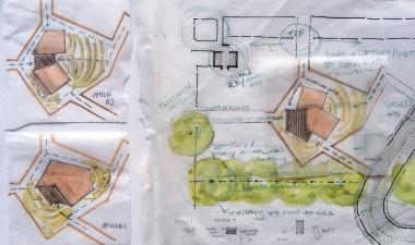 Testing pavilion forms & orientation